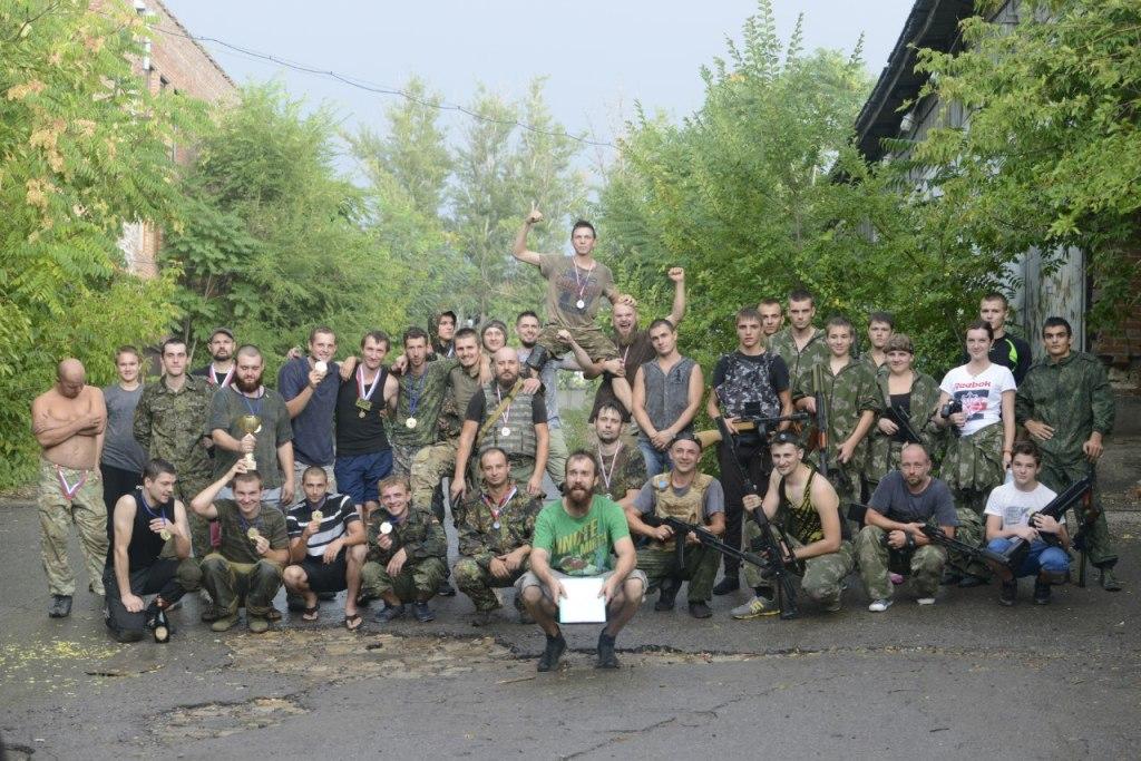 Общая фотография лазертаг команд Ростовской области